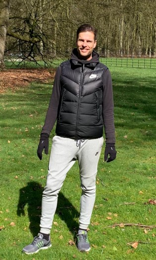Personal trainer Maarten